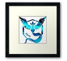 Team Mystic Pokemon go  Framed Print