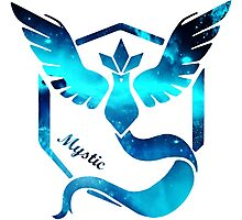Team Mystic Pokemon go  Photographic Print