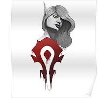 Blood Elf - Horde Poster