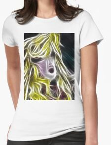 The Blonde Girl with Dishevelled Hair T-Shirt