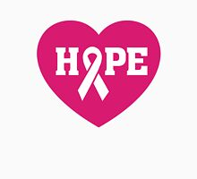Breast Cancer Awareness - Hope Pink Ribbon T Shirt Unisex T-Shirt