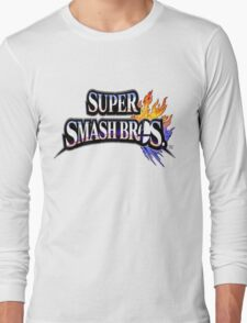 Super Smash Bros Shirt Long Sleeve T-Shirt