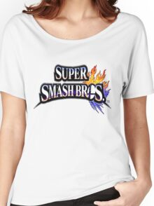 Super Smash Bros Shirt Women's Relaxed Fit T-Shirt