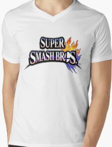 Super Smash Bros Shirt Mens V-Neck T-Shirt