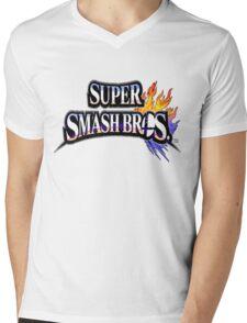 Super Smash Bros Shirt Mens V-Neck T-Shirt