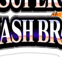 Super Smash Bros Shirt Sticker