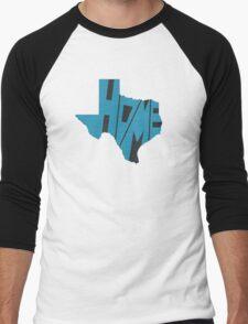 Texas HOME state design Men's Baseball ¾ T-Shirt