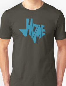 Texas HOME state design Unisex T-Shirt