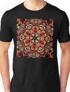 Charming Pheasant Feathers Kaleidoscope  Unisex T-Shirt