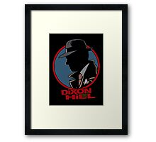Dixon Hill is on the case Framed Print