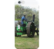 Aveling & Porter Steam Tractor - Rear View iPhone Case/Skin