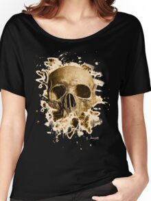 Rotten Skull – brownish Women's Relaxed Fit T-Shirt