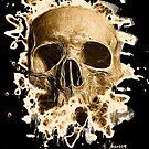 Rotten Skull – brownish by Bela-Manson