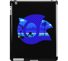 Retro Game Hedgehog iPad Case/Skin
