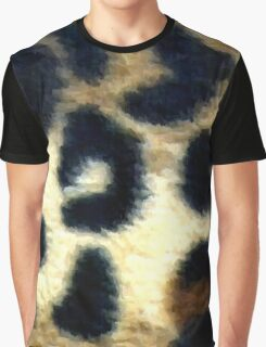 Spotted Leopard Print Graphic T-Shirt