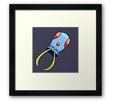 Cool Squid Framed Print