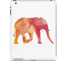 Water Color Elephant (For Men & Women) iPad Case/Skin