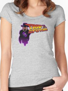 Trap To The Future Women's Fitted Scoop T-Shirt