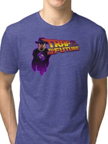 Trap To The Future Tri-blend T-Shirt