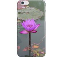 Stunning Purple Water Lily iPhone Case/Skin