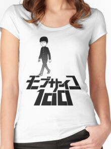 MOB PSYCHO 100 #04 Women's Fitted Scoop T-Shirt