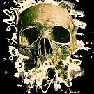 Rotten Skull – greenish by Bela-Manson