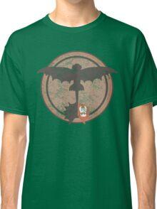 Distressed Night Fury Silhouette  Classic T-Shirt