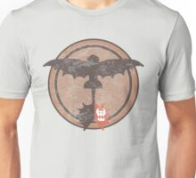 Distressed Night Fury Silhouette  Unisex T-Shirt