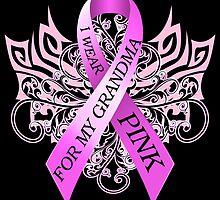 I Wear Pink For My Grandma (w) by magiktees
