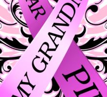 I Wear Pink For My Grandma (w) Sticker