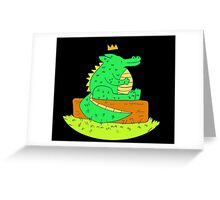 Young Prince Greeting Card