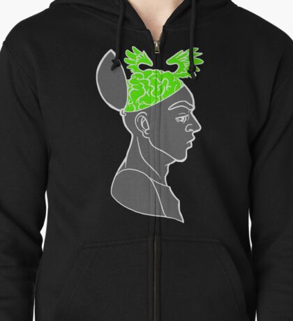 Free Your Mind Zipped Hoodie