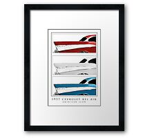 1957 Chevy Belair - American Icon Framed Print