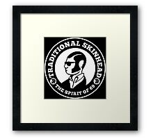 TRADITIONAL SKINHEAD 69 Framed Print