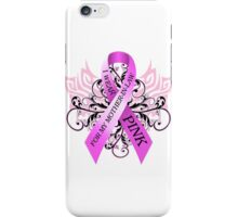I Wear Pink For My Mother In Law iPhone Case/Skin