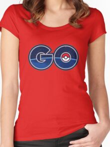 POKEMON GO Women's Fitted Scoop T-Shirt