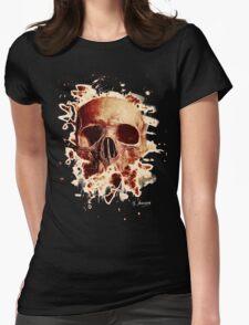 Rotten Skull – reddish Womens Fitted T-Shirt