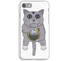 The Cat holds the Time iPhone Case/Skin