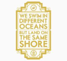 Different Oceans Kids Tee