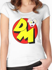 Danger Mouse Logo Women's Fitted Scoop T-Shirt
