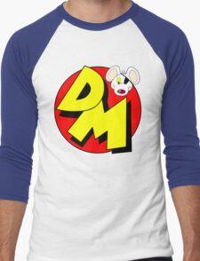 Danger Mouse Logo Men's Baseball ¾ T-Shirt