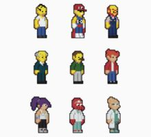 Yellow People Sprites by Jyles Lulham