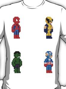 Marvel Pixel Heroes 2! T-Shirt