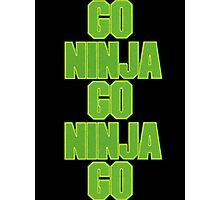 go ninja go ninja go! Photographic Print