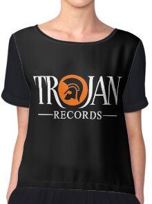 TROJAN RECORDS LOGO STYLE Chiffon Top
