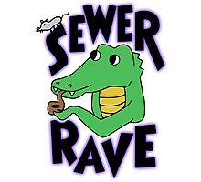 Drewshi's Sewer Rave Photographic Print
