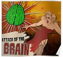 Attack of the Brain Poster
