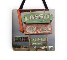 Lasso Motel Tote Bag