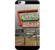 Lasso Motel iPhone Case/Skin