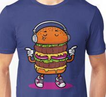 Dancing Burger Unisex T-Shirt